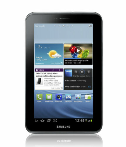 1 of 1 - Samsung Galaxy Tab 2 GT-P3113 8GB, Wi-Fi, 7in Titanium Silver Android Readytouse