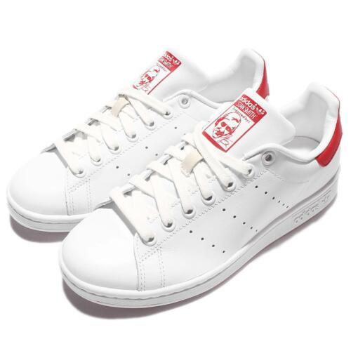Chaussures Stan Blanc Adidas Baskets Originals Rouge Smith De Pour M20326 Hommes Travail 5qtwXHwan