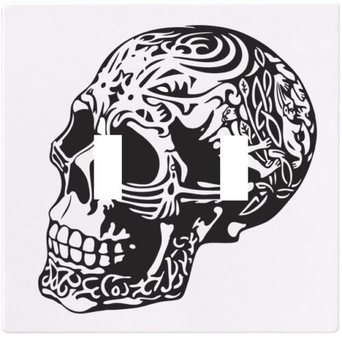 Skull Carvings Wallplate Wall Plate Decorative Light Switch Plate Cover