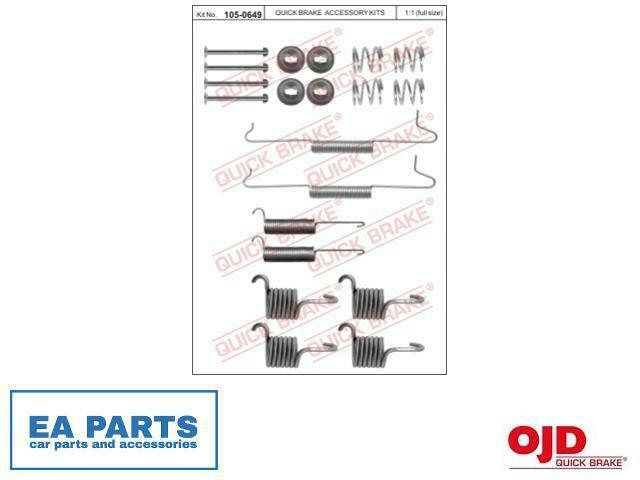 Accessory Kit, brake shoes for VW QUICK BRAKE 105-0649