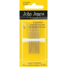 3-Pack Size 26 Colonial Needle Gold Tapestry Petites Hand Needles