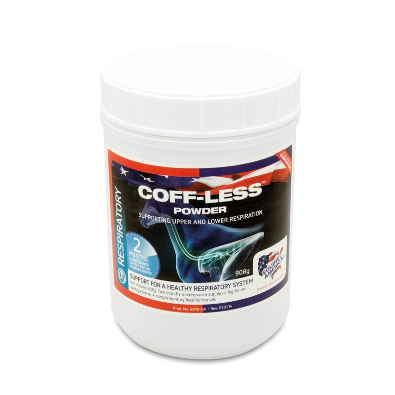 Coff-Less Powder (908gm) - - - Equine America  - Promoting Clear Lungs and Breathing 01634f
