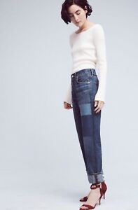 Cora High Crop Of Patchwork taglia Relaxed New Citizens Humanity 29 Rise Jeans naSpAUWTxc