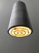 Vintage Early PRESCOLITE Flush Mount Light Mid Century Modern Indoor/Outdoor