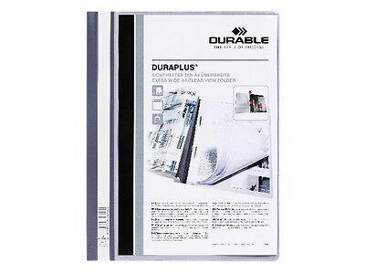 Papier, Büro- & Schreibwaren Mappen & Hefter 5x Durable 2579-10 Duraplus Grau Sichthefter Angebotsmappe Hefter überbreit Neu