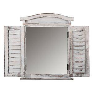 SPECCHIO-shabby-chic-a-persiana-colore-bianco-53x42x5cm