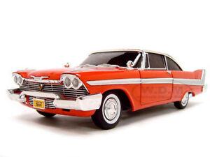 1:18 Modèle De Film 1958 Plymouth Fury Christine -avec Feu Avant - Neuf Ertl