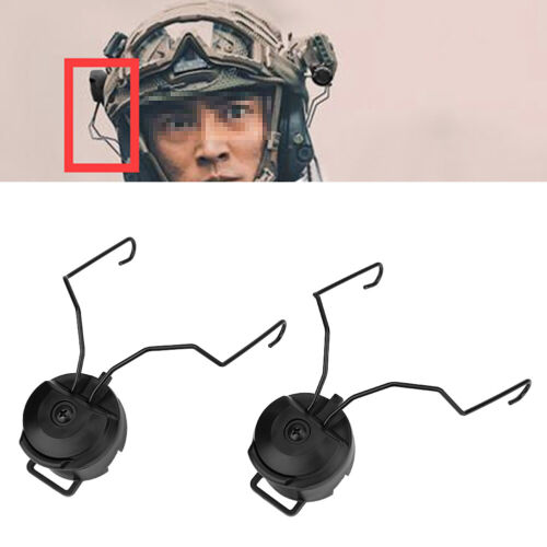 Suspension Headset Support Mount Kit Helmet Rail Adapter Set for FAST//ACH//MICH
