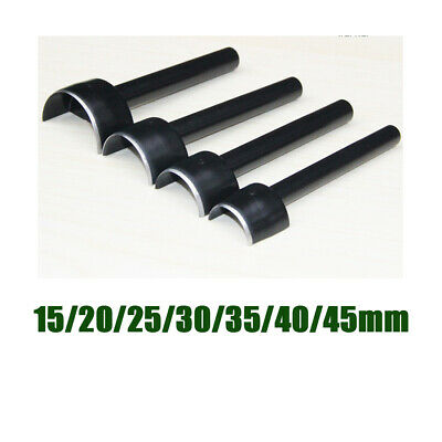 4x  Leather Craft 1//4 Round Cutter Punch Arc-shape Leathercraft Cutter Punch