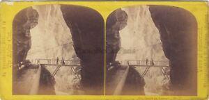Suisse Foto W.Inghilterra Stereo Vintage Albumina Ca