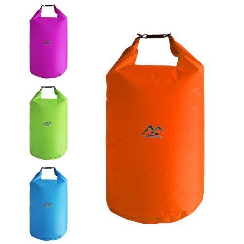 70L Wasserfest Drybag Sack Ocean Pack Schwimmend Bootfahren Kajak Zelten Neu 5L