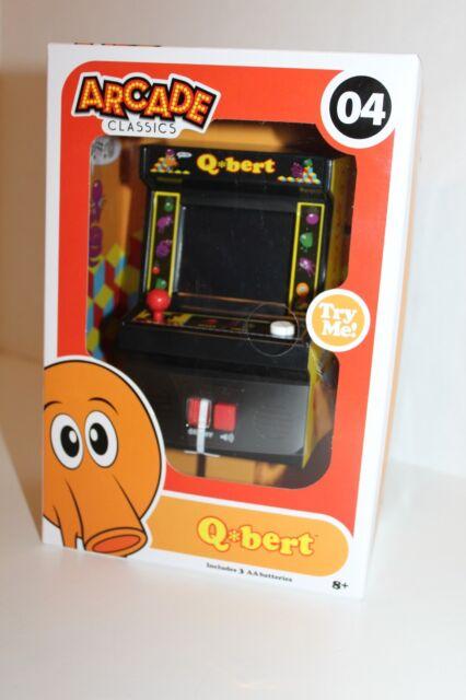 NEW Handheld Electronic Game Q*Bert Classic Arcade Game