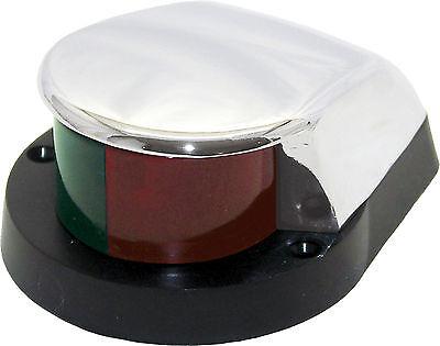 BOAT NAVIGATION BOW LIGHT RED & GREEN- ZAMAK SHORELINE MARINE SL52094