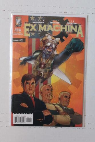 Ex Machina 1 NM Wildstorm Brian K Vaughan SKUC25576 25/% Off!