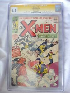 X-Men-1-1963-CGC-6-5-SS-Signature-Series-Stan-Lee-Autograph-1-of-17-Signed