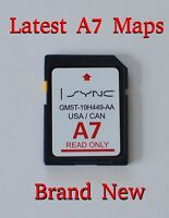 A7 2016 Map Update Navigation Sd Card Sync Fits All Ford, Lincoln Updates A6