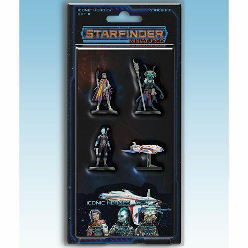 Starfinder Miniaturen  Kult Heroes Set 1 - Ninja Division