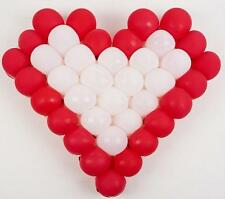 38 Grids Heart Shape Mesh Balloon Frame Balloons Arch Party Supply Decoration US