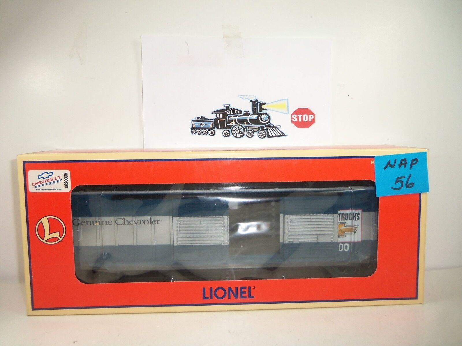 Lionel Chevy Double Door Boxcar NOS NAP-56