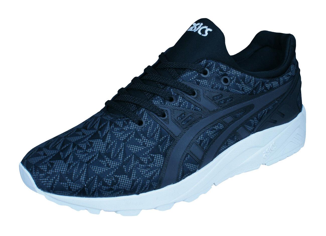 Asics Gel Kayano Trainer EVO Mens Running Sneakers / Shoes - Black Gray