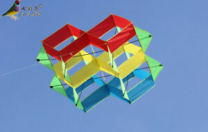 NEW-47-In-power-box-3D-kite-single-line-Outdoor-fun-Sports-stunt-kites-Toys