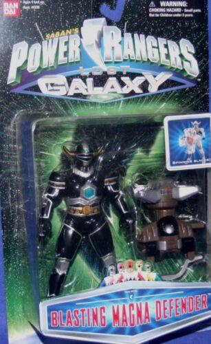 "Power Rangers Lost Galaxy 5/"" Blasting Magna Defender Ranger Factory Sealed 1999"