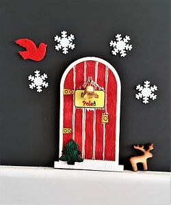 Celebration & Occasion Supplies elf door kit Christmas eve box stocking filler art &craft paint your own fairy