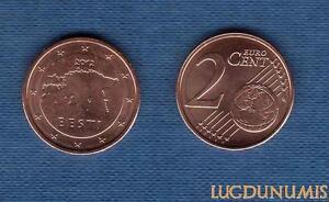 Estonie 2012 – 2 Centimes SPL FDC Provenat de rouleau