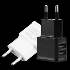 5V 2A Dual USB Port EU Plug AC Wall Charger Adapter For Cellphone Tablet UE 2017