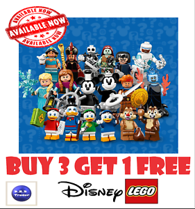 GENUINE-LEGO-MINIFIGURES-DISNEY-SERIES-2-71024-PICK-YOUR-OWN-BUY-3-GET-1-FREE