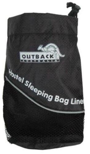 Stuff Sack Sleeping Bag Liner Storage Bag Nylon 19.5x6x9.5cm /& 22.5x8x12cm