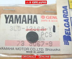 YAMAHA 3LD-12168-Y1 PASTIGLIA REG VALVOLA 1,85 ORIGINALE XTZ 750 Super Tenerè
