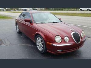 Jaguar s type new battery  as is