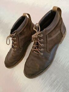 Timberland-Mens-Brown-Laced-Boots-SZ-Uk-14-5-Designer-Footwear-Walking-C186