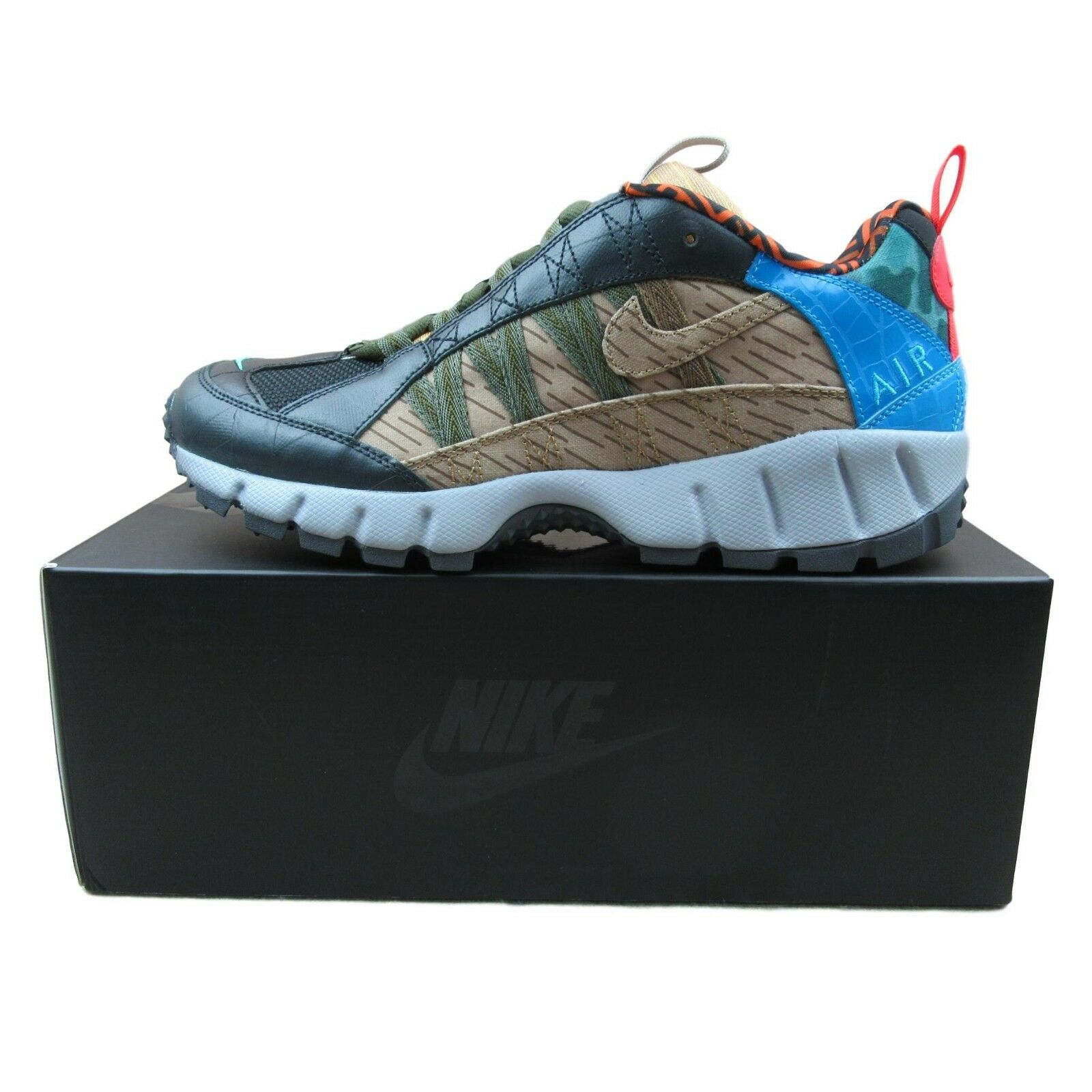 Nike Air Humara Size 17 Premium Trail Shoes Size Humara 9.5 Mens Black Blue AO2606 001 New a7ea0c