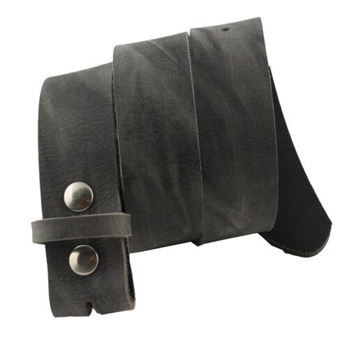 Western-memoria Pelle Cintura Cintura di cambio Grigio used