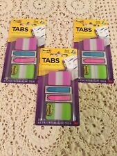 Lot Of 3 Post It Tabs And Flags64 Count Each