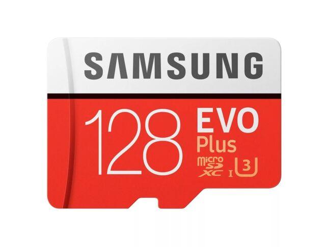 Samsung EVO Plus+ 128GB micro SDXC card 100MB/s MB-MC128GA Class10 SD MicroSD DS