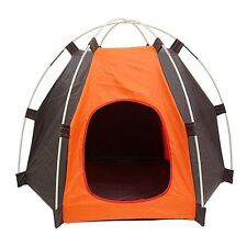 Dog Cat Pet House Bed Tent Portable Folding Waterproof Indoor Outdoor +Bag