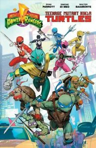 Mighty-Morphin-Power-Rangers-Teenage-Mutant-Ninja-Turtles-Paperback-by-Parro