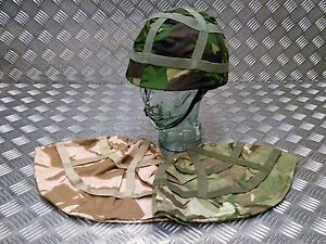Genuine-British-Army-MTP-DPM-DPP-Camo-Covers-With-Military-Style-Training-Helmet