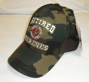 USMC United States Marine Corp - Retired Military Hat Baseball Cap ... ae743160037