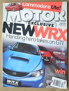 Motor-Oct-2007-Toyota-TRD-Aurion-Holden-VE-Ute-Clio-197-F1-R27-Golf-GTi-W12-650