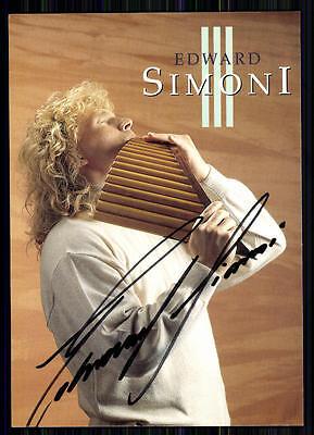 Musik Original, Nicht Zertifiziert Edward Simoni Autogrammkarte Original Signiert ## Bc 10267 äRger LöSchen Und Durst LöSchen