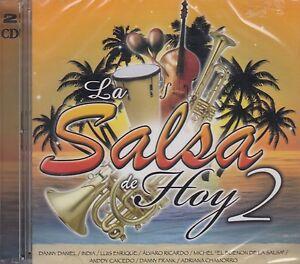La-Salsa-de-Hoy-India-Luis-Enrique-Alvaro-Ricardo-Adriana-Chamorro-CD-DVD-New