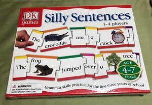 Silly-Sentences-Game-Book-Supplement-Practice-Grammar-Skills-Nouns-Verbs-NEW