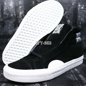 6ab34603cc61f1 VANS STYLE 238 NATIVE SUEDE BLACK WHITE MEN S 9.5 SKATE SHOES S85138 ...