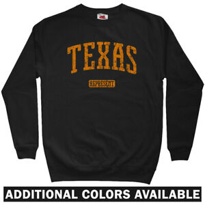 huge selection of 8437c e4368 Details about Texas Represent Sweatshirt Crewneck - TX Rangers AM Dallas  Houston - Men S-3XL