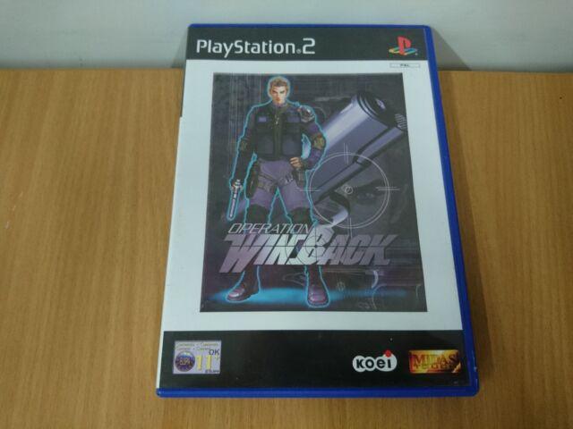 Operation Winback (Sony PlayStation 2, 2001) - European Version