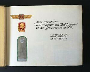 Fotoalbum-034-Meine-Dienstzeit-034-Fernsprecher-amp-Kraftfahrer-der-Grenztruppen-1964-65